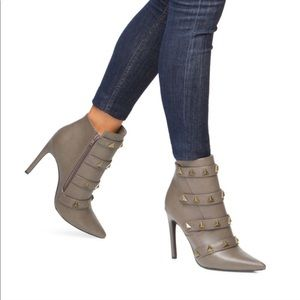 Kari Studded Bootie By Shoe dazzle Size 8.5 Heeled